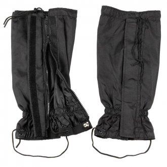 Kamaše - holeňové návleky - černé