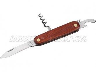 Nůž kapesní WOOD 3dílný