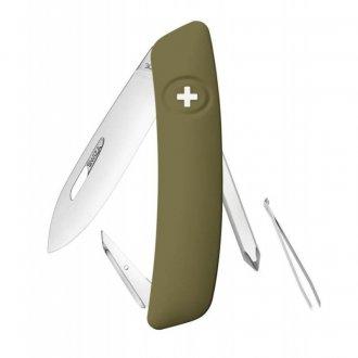 Kapesní nůž švýcarský SWIZA D02 olive