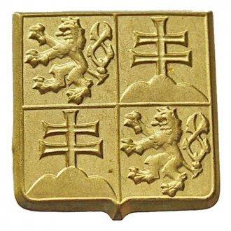 Odznak ČSFR - zlatavý