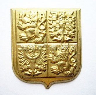Odznak AČR současný - zlatavý