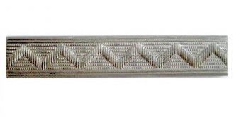 Odznak ČSLA - kolejnička rozlišovací stříbrná - Rovná