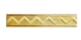 Odznak ČSLA - kolejnička rozlišovací zlatá - Rovná