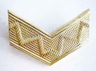 Odznak ČSLA - kolejnička rozlišovací zlatá - Véčko