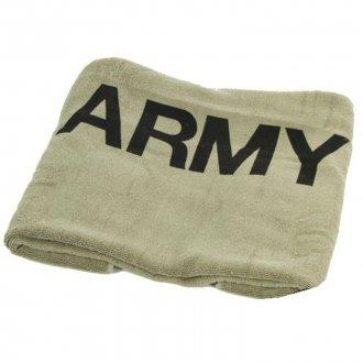 Osuška 75x150 potisk ARMY