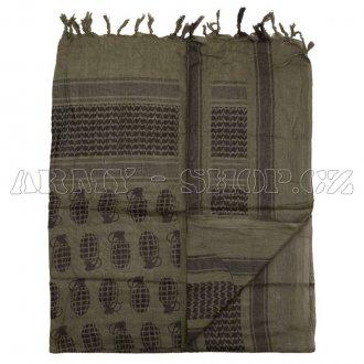 Palestinský šátek - Modrý tmavý  426b406467