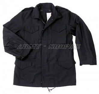 Polní bunda M65 - Černá - US ARMY - nová