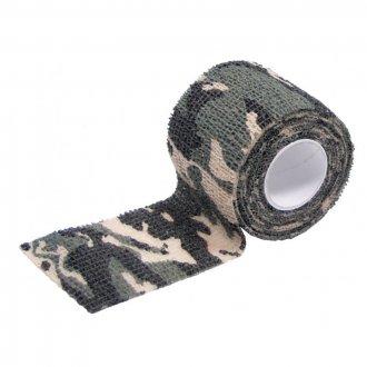 Maskovací protiskluzová páska woodland