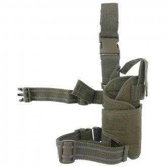 Pouzdro pistolové stehenní CORDURA Mil-Tec oliv