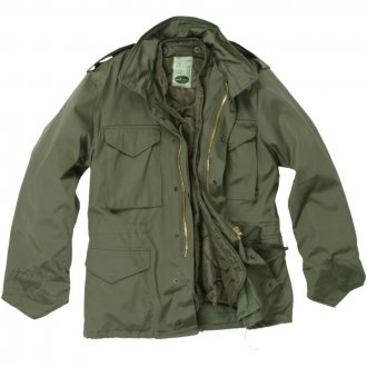 Polní bunda M65 - olivová - Mil-Tec