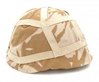 Kamuflážní DPM povlak na helmu - pouštní