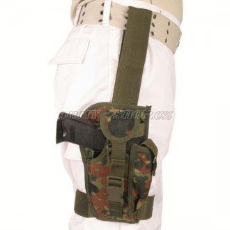 Pouzdro pistolové STEHENNÍ  MS BW  - Punktarn