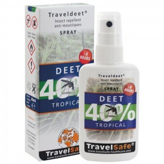 Repelent TRAVELDEET 40 - spray
