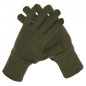 Rukavice zimní - AČR - OLIVOVÉ - pletené