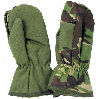 Britské zimní rukavice Camo NOVÉ
