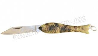 Nůž rybička ALBASTAR maskáčová