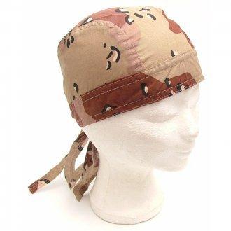Šátek na hlavu - potisk  DESERT 6