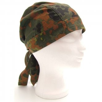 Šátek na hlavu - Flecktarn