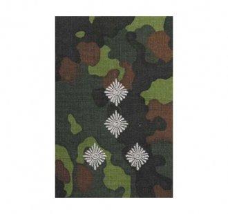 Výložka Bundeswehr  štábní kapitán  - barevná