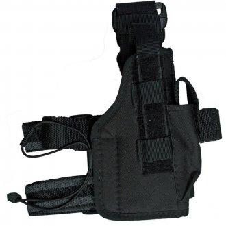 Pouzdro pistolové STEHENNÍ  NATO  - Černé