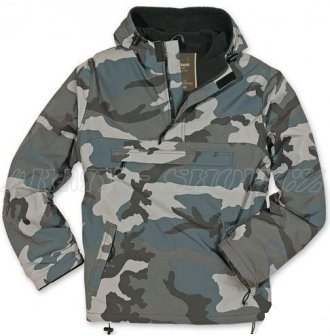 Bunda Windbreaker night camo