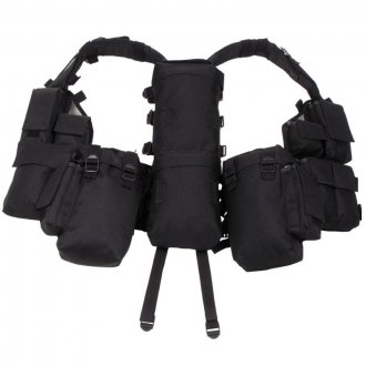 Taktická BW vesta - černá