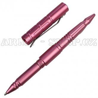 Taktické pero DEFENSE růžový