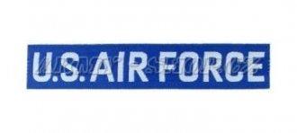 Nášivka U.S. AIR FORCE plátek modrá - tištěná