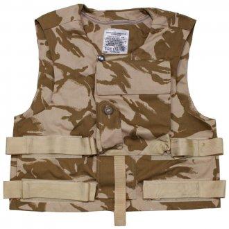 Neprůstřelná vesta DPM ( bez výplně ) DESERT