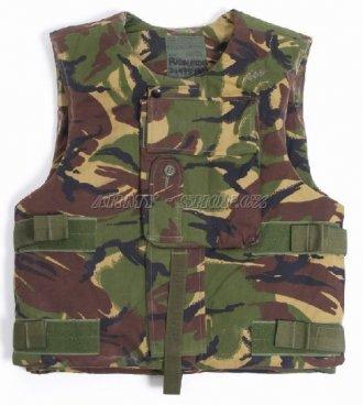 Neprůstřelná vesta DPM ( bez výplně ) s polstrováním - LES