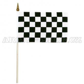 Vlajka RACING malá 30x45cm