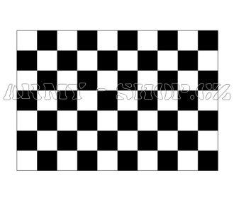 Vlajka Cílová šachovnice