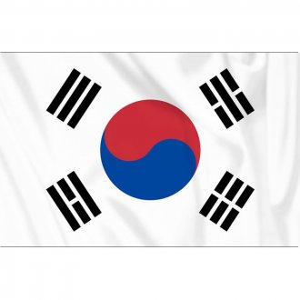 Vlajka Severní Korea