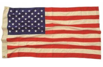 Vlajka US VINTAGE 90X150CM bavlna 50 hvězd