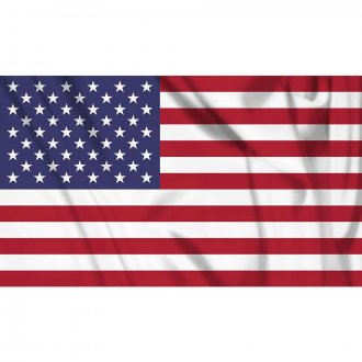 Vlajka USA - 90x150cm - NYLON