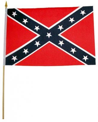 Vlajka Konfederace - malá 30x45cm