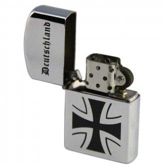 Zapalovač s potiskem - Deutschland - kříž