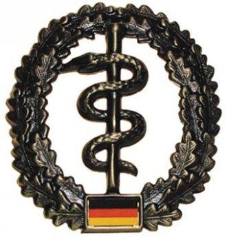 Odznak rozlišovací BW velký - Zdravotník