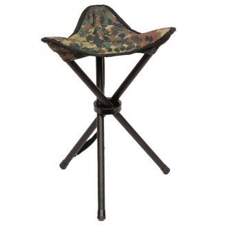 Skládací židle  Trojnožka  - BW camo