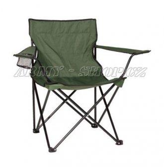 Židle rozkládací - Olivová