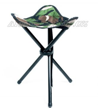 Skládací židle  Trojnožka  - Woodland